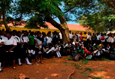 Charlie Hummel - Lighting up Students' Education project in Jinja